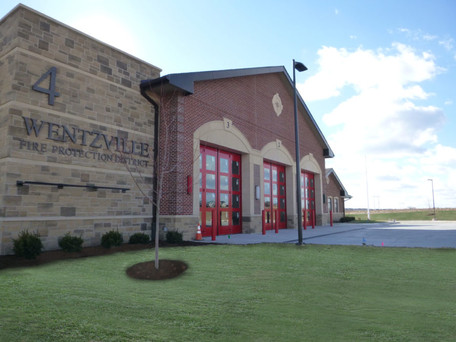 Wentzville FPD Station #4 Ribbon Cutting and Building Dedication