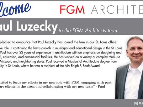 Paul Luzecky Joins FGM St. Louis Office