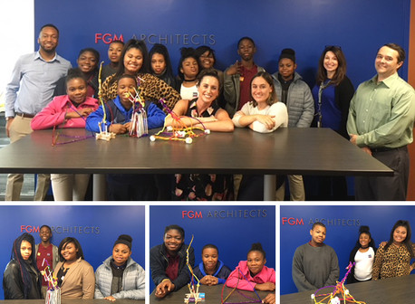 7th Graders from Compton-Drew Middle School Visit FGM!