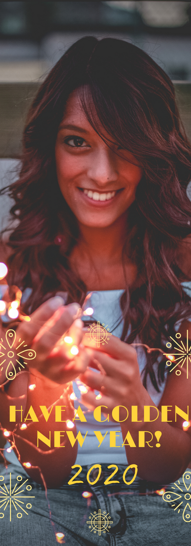 Golden New Year Snapchat Geofilter.png