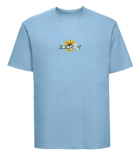 Sunflower Tee Sky Blue