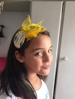 Fascinator Corujinha - Laura