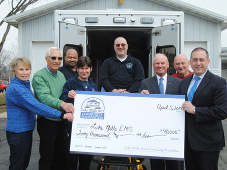 EMS granted funds to help pay for new  Stryker Powerlift in Ambulance Unit