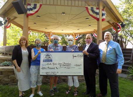 COVID-19 Recovery Grant to the Lake Mills Area Chamber of Commerce