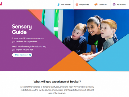 Sensory guides at Eureka! The National Children's Museum