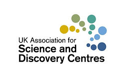 The UK Association for Science and Discovery Centres logo