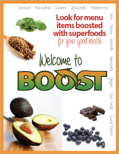 Welcome flyer - comes in 3 sizes including poster size
