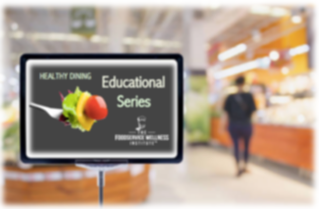 Healthy Dining Educational Series  CATEG