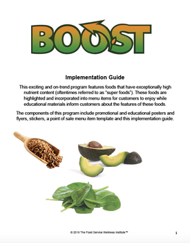 Sample page from Implementation Guide