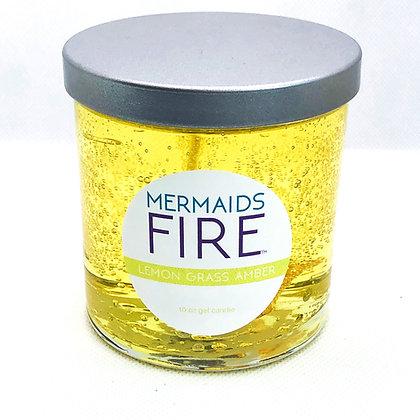 Lemon Grass Amber Candle