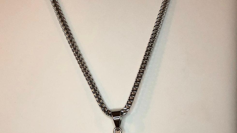 Silver Jaguar Pendant