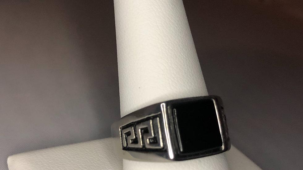 Silver Regular Stone Ring