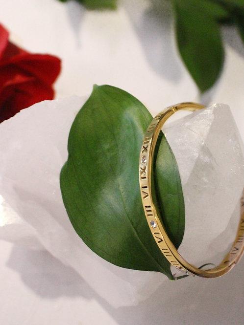 'One Love' Roman Numeral Bracelet