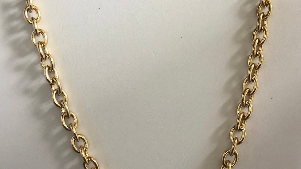 Gold Link Necklace