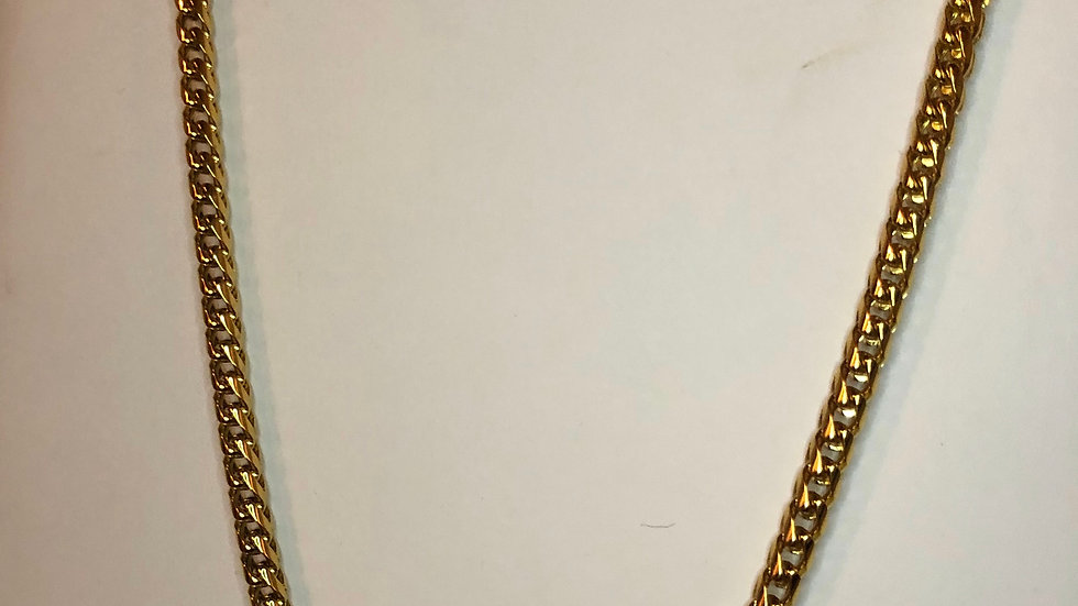 Gold Thick Chain Necklace