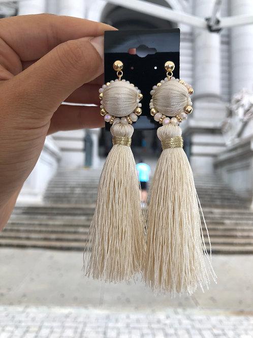 Fringe Statement Earrings