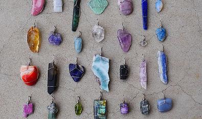 Hand-Wrapped Gemstones
