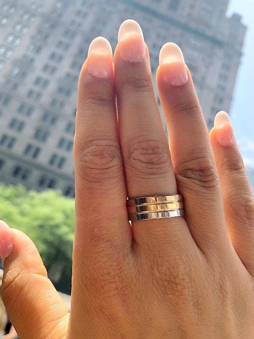 Tri Colored Ring