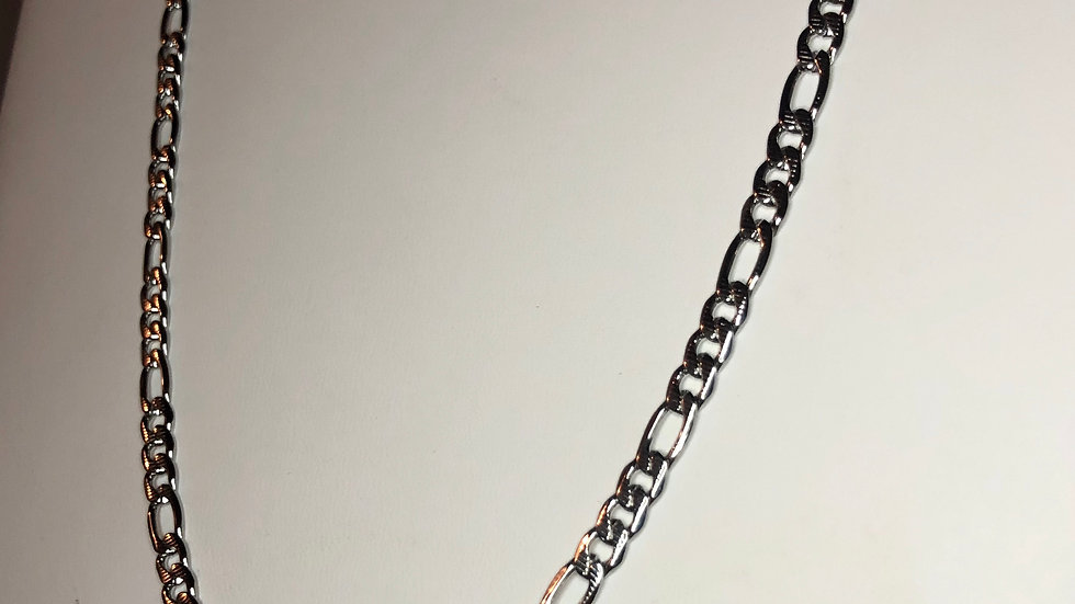 Silver Classic Link Necklace
