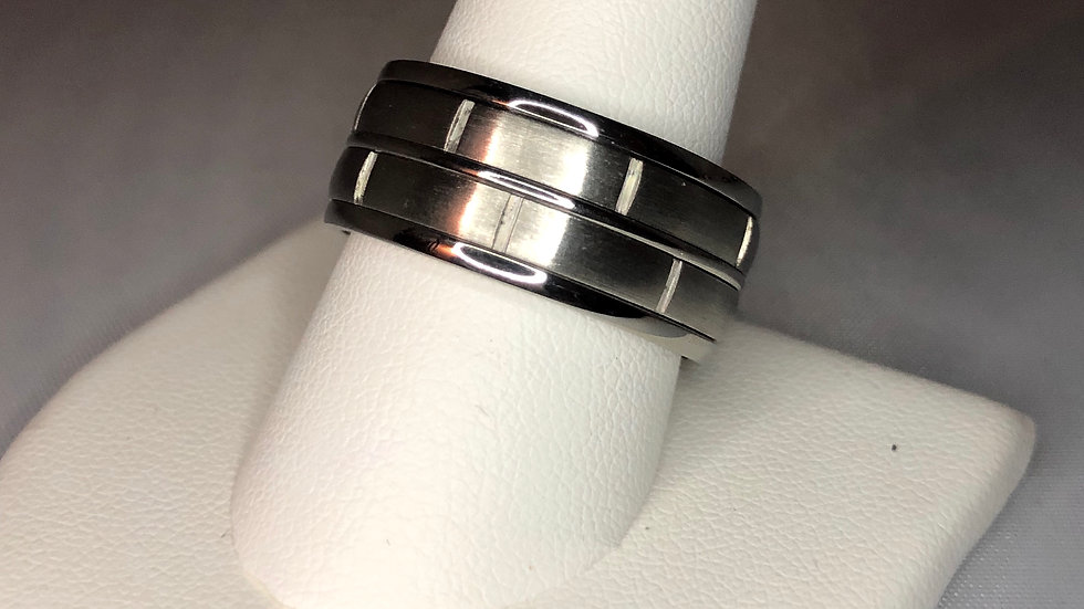 Silver Spin Ring