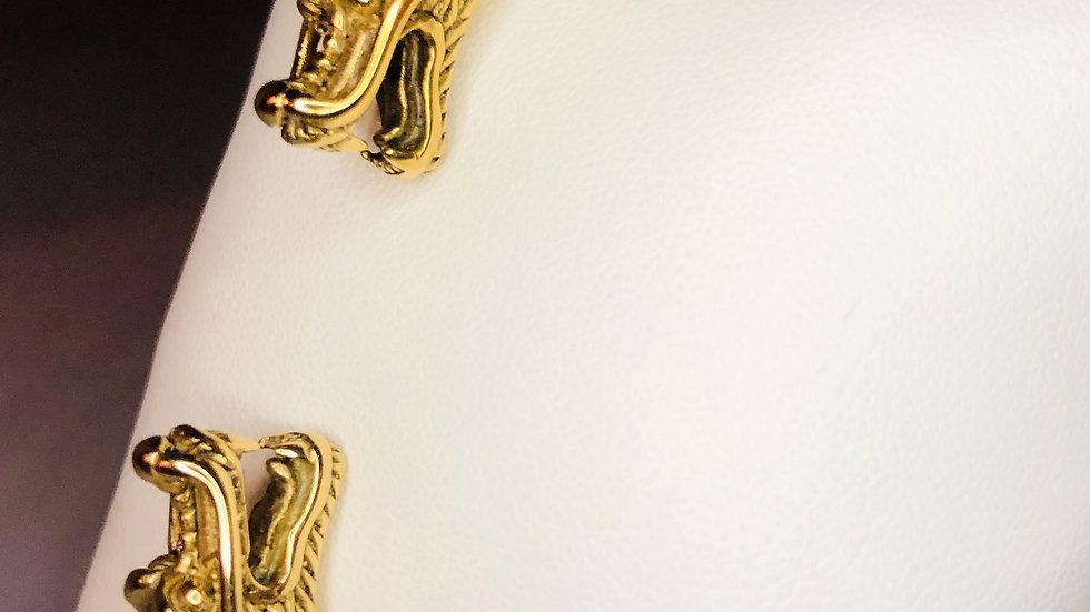 Gold Dragon Cable Bracelet