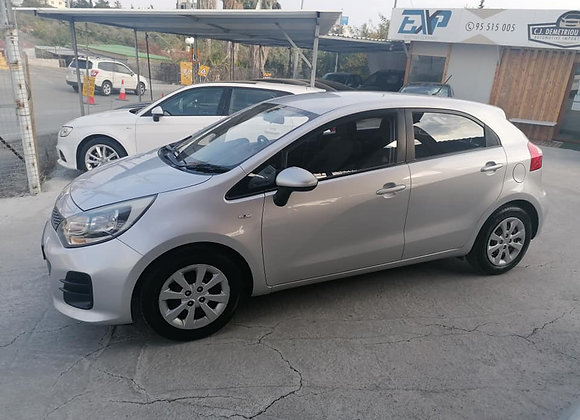 KIA RIO CYPRUS CAR LOW MILEAGE