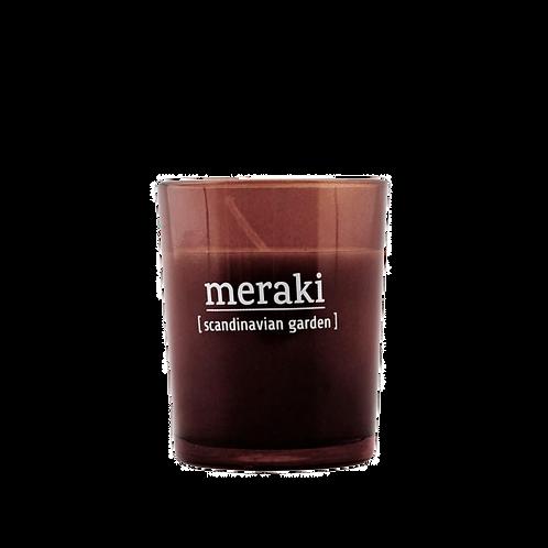 MERAKI BOUGIE PARFUMEE SCANDINAVIAN GARDEN 12H