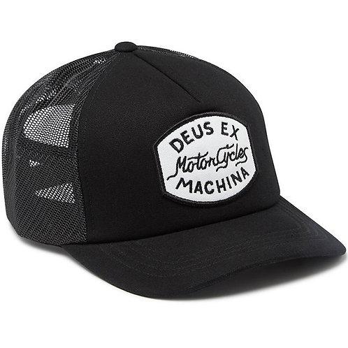 DEUS EX MACHINA VROD TRUCKER CAP BLACK