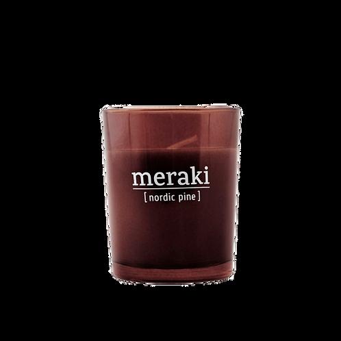 MERAKI BOUGIE PARFUMEE NORDIC PINE 12H