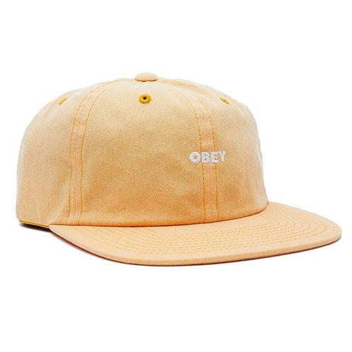 OBEY CASQUETTE  PIGMENT 6 PANEL CAP