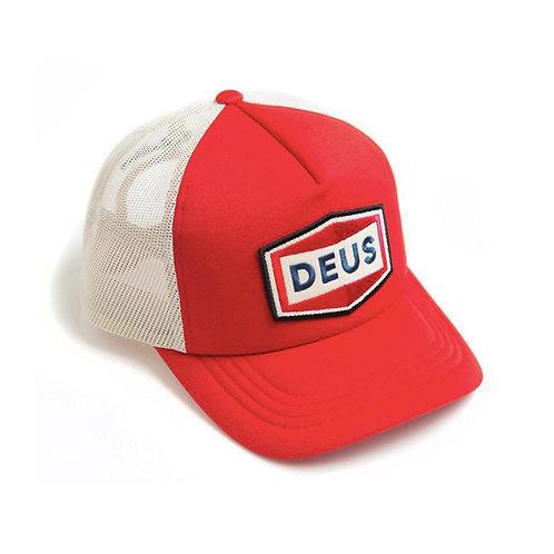 DEUS EX MACHINA SPEED STIX TRUCKER CAP RED