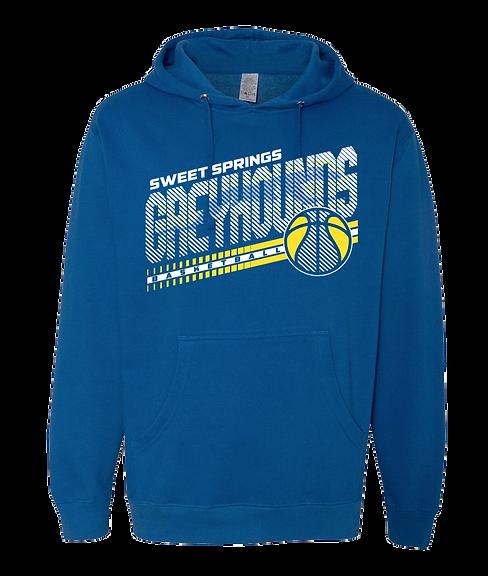 Royal Greyhound Basketball Hoodie