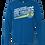 Thumbnail: Long Sleeve Royal Greyhound Basketball