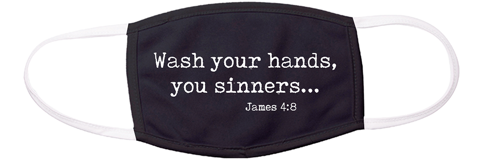 Wash Hands Mask