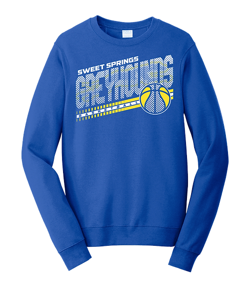 Royal Greyhound Basketball Sweatshirt