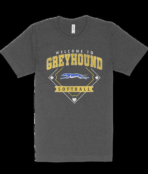 Grey Hound Softball Tshirt