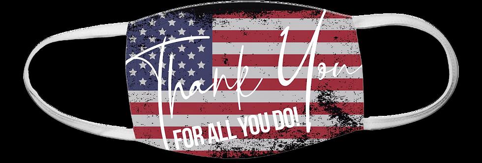 Thank You USA Mask