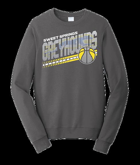 Heavy Metal Greyhound Basketball Sweatshirt