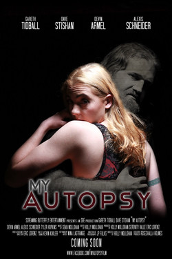 """Poster for """"My Autopsy"""""""