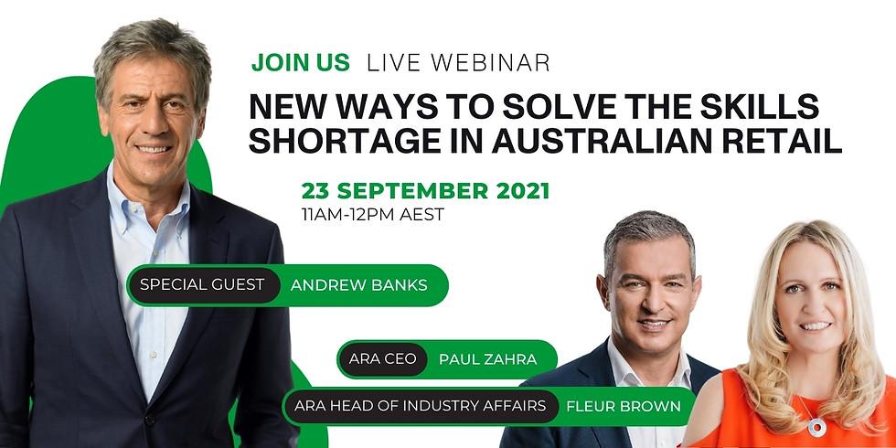 New ways to solve the skills shortage in Australian retail