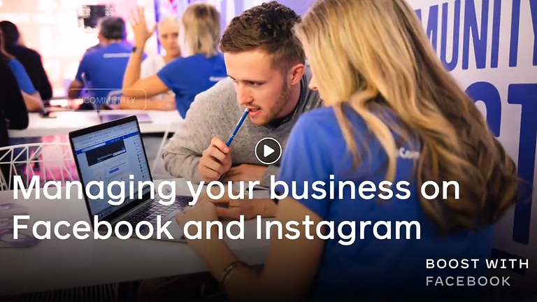 MANAGING YOUR BUSINESS ON FACEBOOK AND INSTAGRAM
