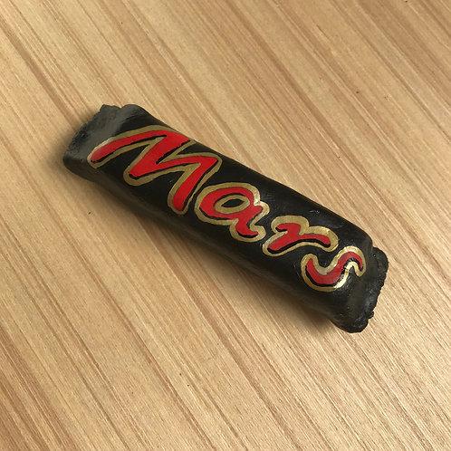 Handmade Fake Ceramic Mars Bar