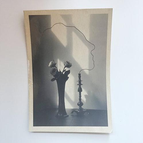 Found Black and White Print/ Artist Unknown