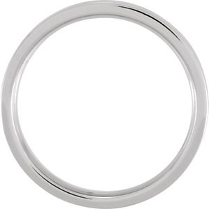 14K White & Rose 4mm Band Size 11