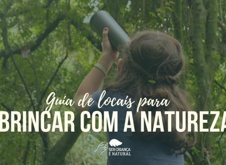 Guia de Locais para Brincar com a Natureza