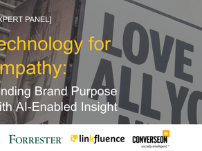 Technology for Empathy: Finding Brand Purpose with-AI Enabled Insight
