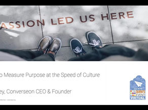 Quirk's Virtual Event 2020 - How to measure brand purpose at the speed of culture