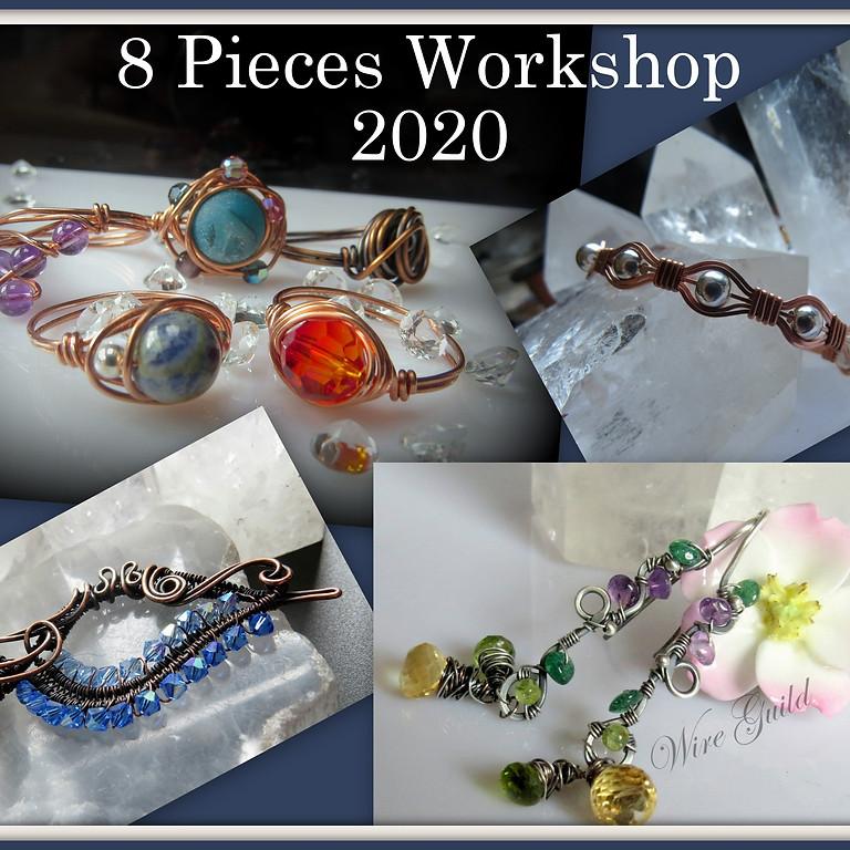Wire Wrap 8 Piece Workshop (G)