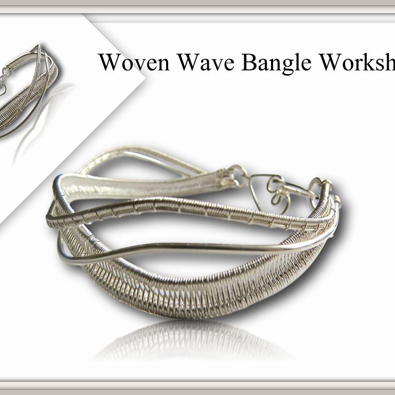 Woven Wave Statement Bangle Workshop