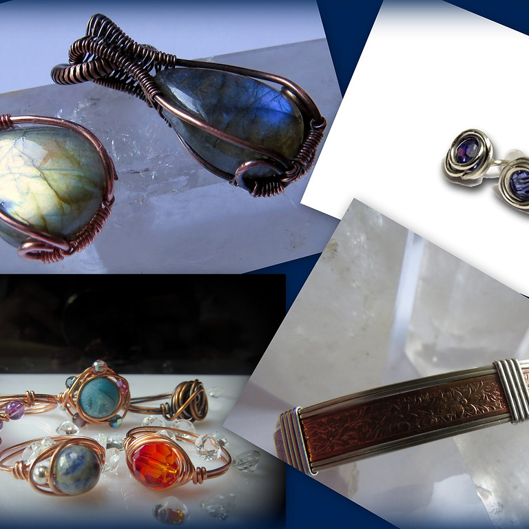 Wire Wrapping Workshop at Seamus Ennis Arts Center, Naul
